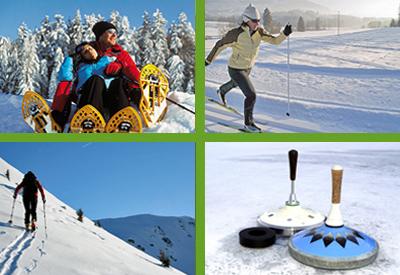 Retteneggerhof in Rettenegg - Stuhleck - Pretul - Waldheimat - Joglland - Winterwanderungen - Tourengehen - Schneeschuhwandern -  Langlaufen - Schifahren - Winterwandern - Rettenegg.